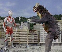 Ultraman gyango ruffian from outerspace 19660925.JPG