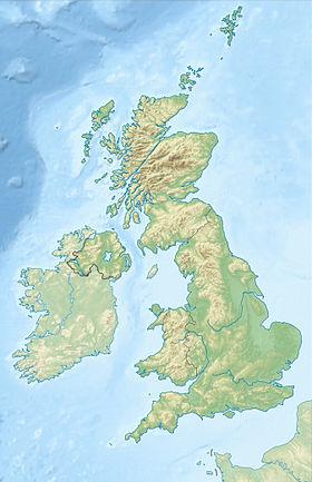 Voir la carte Royaume-Uni topographique