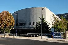 Photographie du bâtiment Lettres et Sciences Humaines de l'université Blaise-Pascal