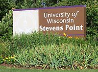 UniversityWisconsinStevensPointSign.jpg