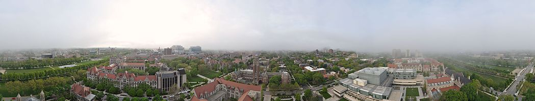 The campus of the University of Chicago.