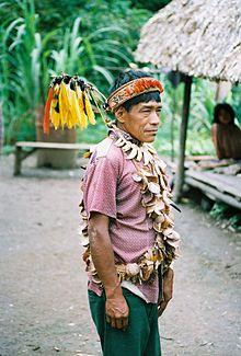 شامان أورارينا من الأمازون البيروفية