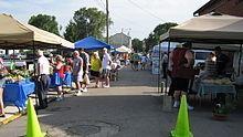 Champaign County (Urbana, Ohio) Farmers Market.