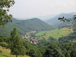 La haute vallée: Urbeis