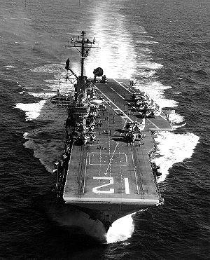The USS Hornet.