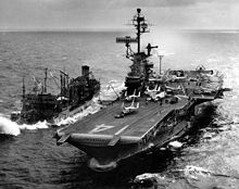 The USS Ticonderoga