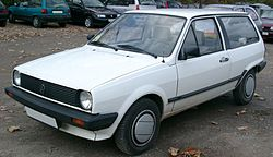 Volkswagen Polo Mark II hatchback