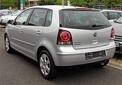 VW Polo IV Facelift Silver Edition 20090620 rear.JPG