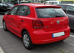 VW Polo V 20090717 rear.JPG