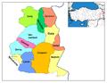 Districts of Van