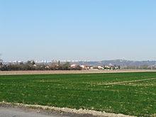 Photographie montrant les maraichages à Vaulx-en-Velin