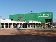 Photographie montrant le palais des sports Jean-Capievic
