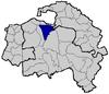 Localisation de Maisons-Alfort dans le Val-de-Marne
