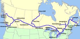 System map