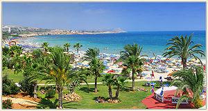 View of Agia Napa beach located in vicinity of Nelia Beach Hotel.jpg