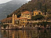 Villa del Balbianello y el lago Como (Italia)