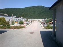 Le cimetière communal.