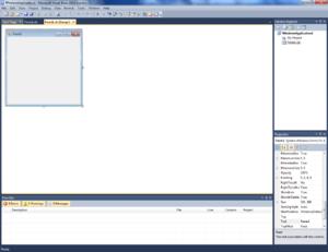 Visual Basic Express screenshot.png
