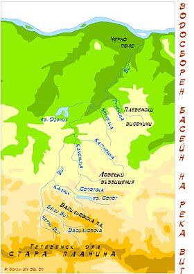 Región  del río Vit