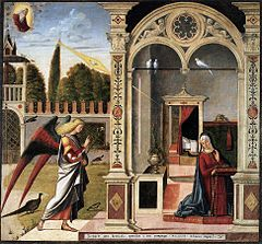 Toile de Vittore Carpaccio pour Santa Scuola degli Albanesi