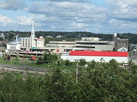 Localisation d'Alma dans la MRC de Lac-Saint-Jean-Est