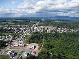 Localisation de Saint-Honoré dans la MRC Le Fjord-du-Saguenay