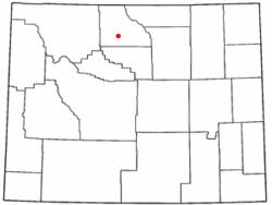 Carte du comté de Basin