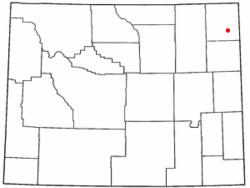 Carte du comté de Sundance