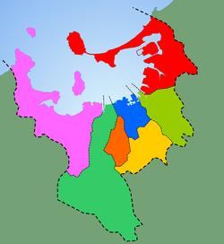 Wards of Fukuoka City Japan.png