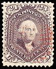 Washington, general issue of 1862, 24c