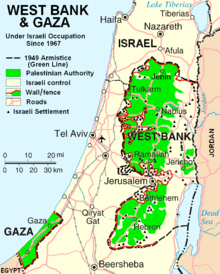 West Bank &amp; Gaza Map 2007 (Settlements).png