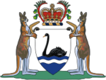 Coat of arms of  Western Australia
