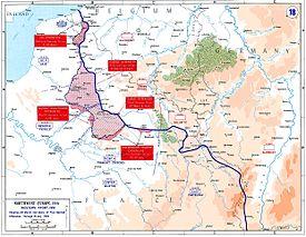 German gains in early 1918