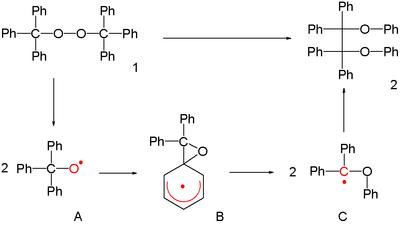 Radical 1,2-rearrangement