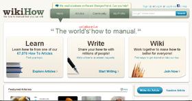 wikiHow Main Page