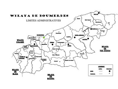 Communes de Boumerdes