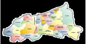 Carte de la Wilaya