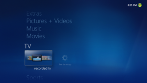 Windows Media Center on Windows 7.png