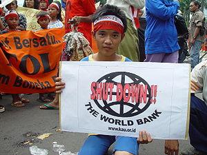 Worldbank protest jakarta.jpg