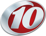 """""""10"""" logo used from October 2002-October 2008 and again from July 2010-present."""