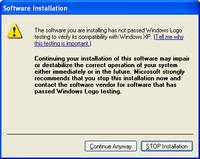 Windows Logo Warning