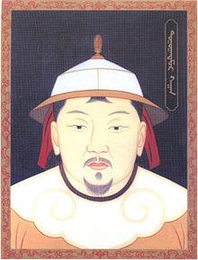 Painting of Emperor Toghan Temur Khan