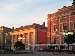 Le centre de Zaječar