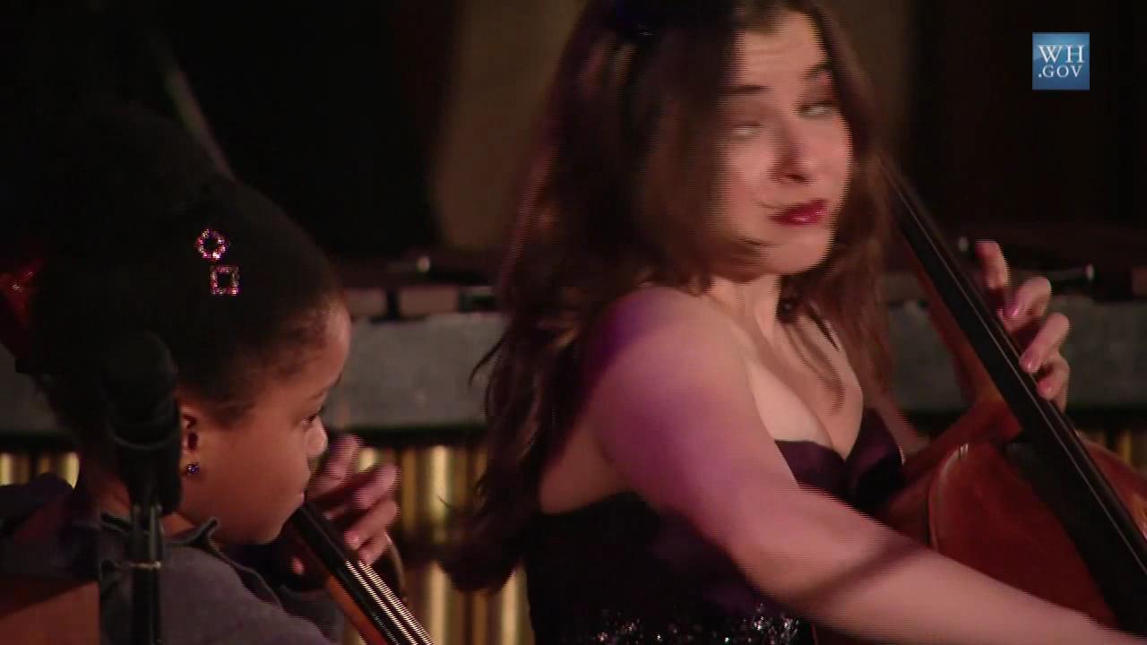 20091104 Alisa Weilerstein and Sujari Britt - Boccherini's Sonata for Two Cellos in C Major, 1st movement Allegro moderato.theora.ogv