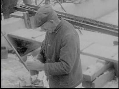 Amateur film ice harvest pocono manor 1919.ogv