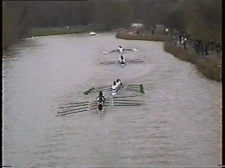 A rowing race
