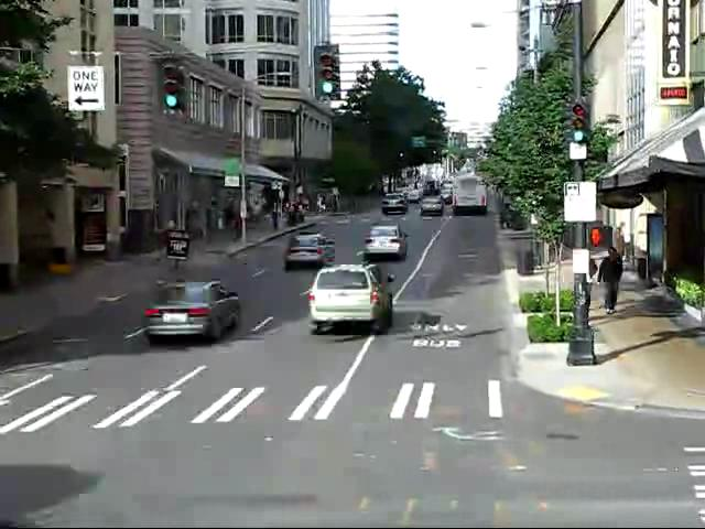 Bus Ride Through Downtown Seattle (Time-lapse).ogv