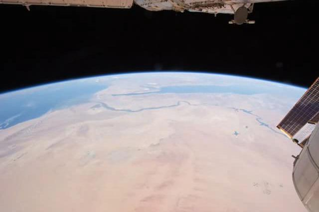ISS flies over Africa, the Mideast, and the Terminator line.ogv