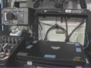 A video touring the interior of the space station. Beginning at the forward end of Node 2, the tour shows PMA-2, the Japanese Experiment Module, the Columbus and Destiny laboratories, followed by Node 1 and the Quest airlock. The tour then proceeds through PMA-1 and into the Russian segment, visiting the FGB, a docked Soyuz spacecraft, Docking Compartment, Service Module and two Progress spacecraft.
