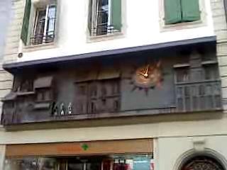 Lausanne la Palud horloge.ogg